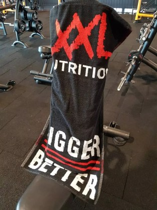 xxl nutrition gym handdoek review