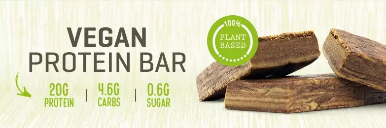 vegan protein bar review