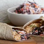 wraps pulled chicken