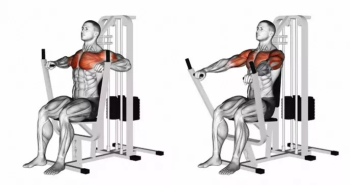 chest press uitvoering