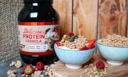 delicious protein granola review
