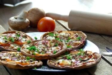 eiwitrijke pizza recept