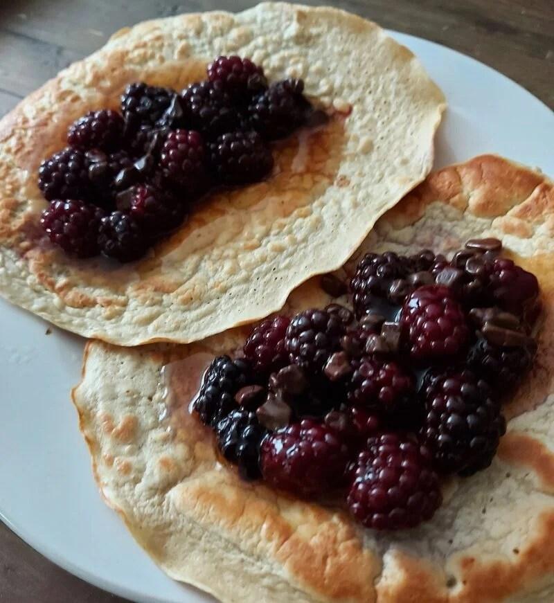 eiwit pannenkoeken maken