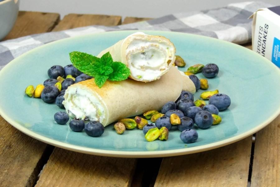 pannenkoek pistache vulling