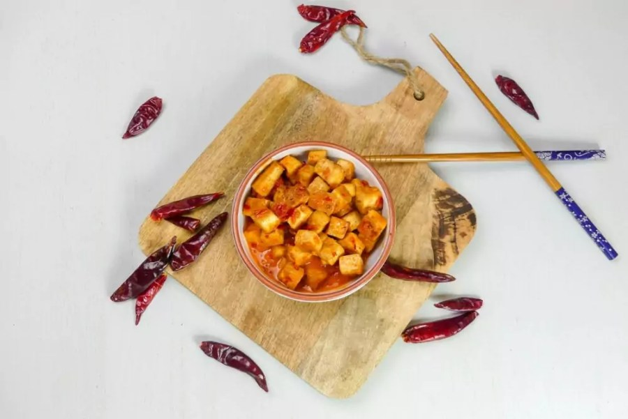 vegan tofu recept