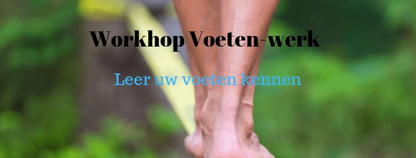 fascia voeten-werk