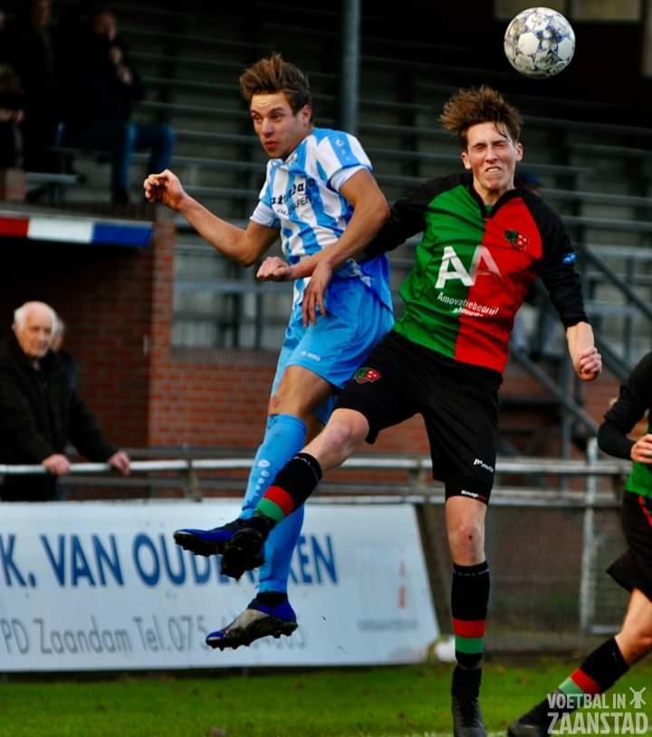 FC Zaandam wint van koploper FC Aalsmeer