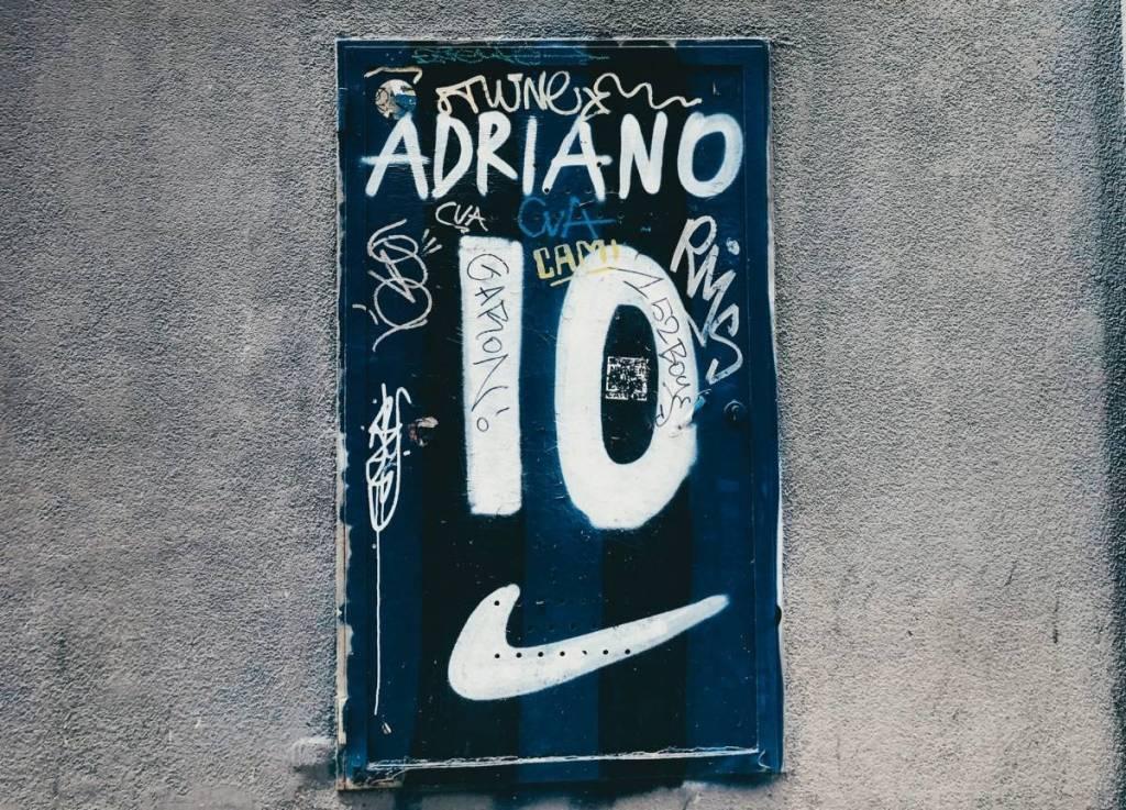 Clubkleuren van Internazionale, een van de meest beruchte voetbalclubs uit Italië
