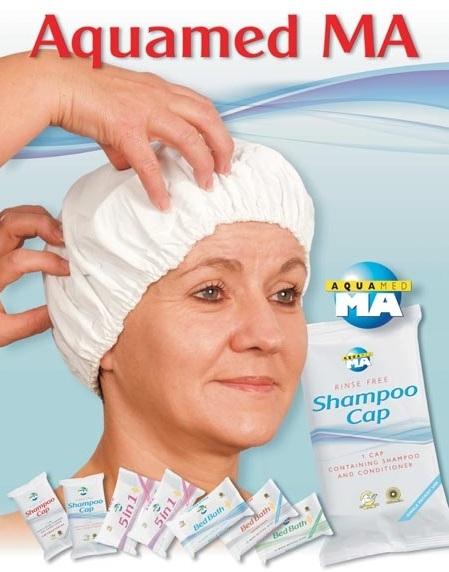 Шапка за сухо измиване на глава без изплакване