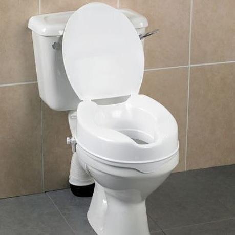 Монтирана надстройка към тоалетна чиния