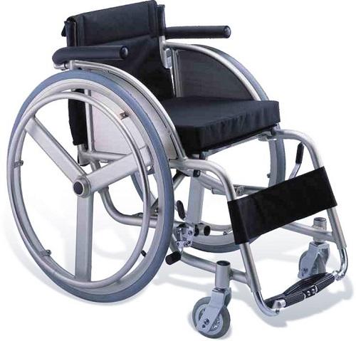 Спортна алуминиева инвалидна количка модел 0808359