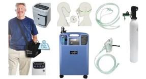 Наем на портативни и стационарни кислородни концентратори, леки бутилки с медицински кислород