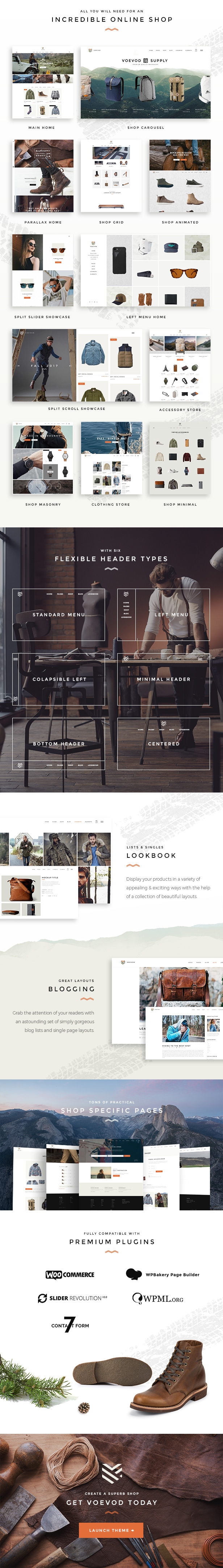 Voevod - WooCommerce Store - 2