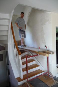Emejing Mur Escalier Ideas Awesome Interior Home
