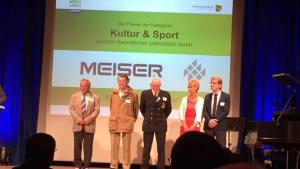 Ehrenamtspokal des Vogtlandkreises für Rolf Thomä
