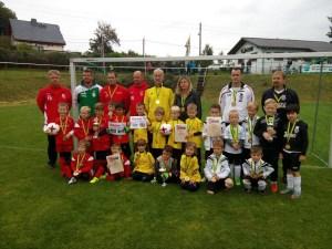 Herbstpokalsieger bei den G-Junioren – 1. FC Wacker Plauen – Herzlichen Glückwunsch!