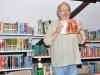 Buchlesung Holzdorfs langer Arm in der Greizer Bibliothek