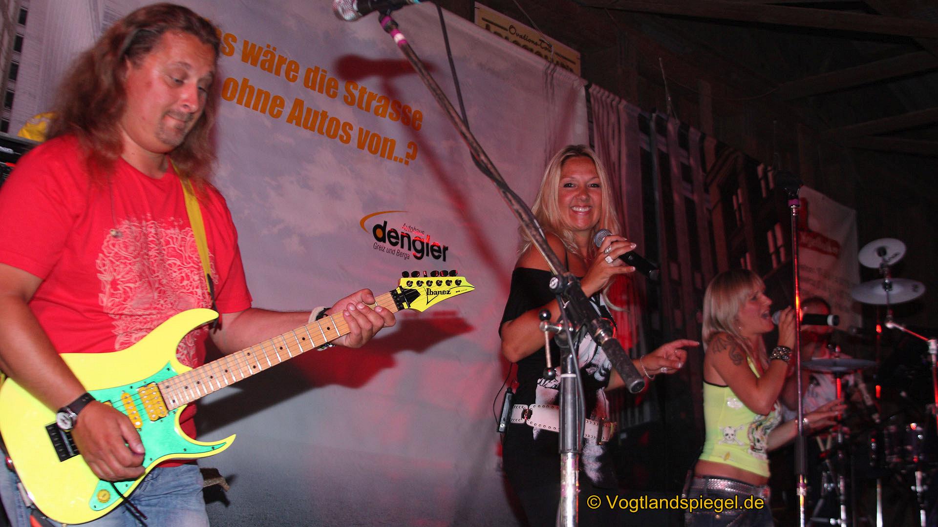 6. Dengler-Rock-Nacht in Reithalle mit einem Rockkonzert der Gruppe Anna and the rocks