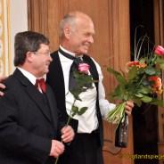 Schauspielerei par excellence in Greizer Unteren Schloss