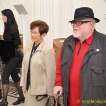 Walter Hanel stellt 200 Arbeiten im Greizer Sommerpalais aus