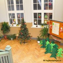 Schönes weihnachtliches Dekor