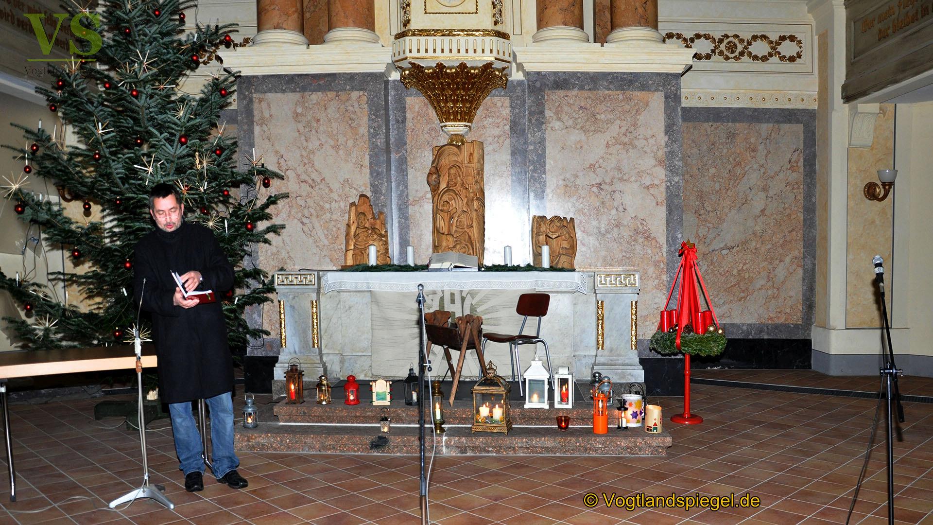 Das Friedenslicht aus Bethlehem kam am Tag vor Heiligabend auch in Greiz an