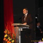 Neujahrsempfang des Greizer Bürgermeisters Gerd Grüner in der Vogtlandhalle