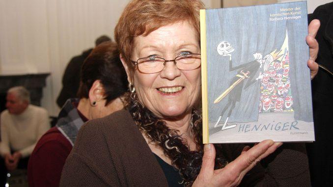 Frauenpower mit Humor - Ausstellung von Barbara Henniger im Satiricum Greiz