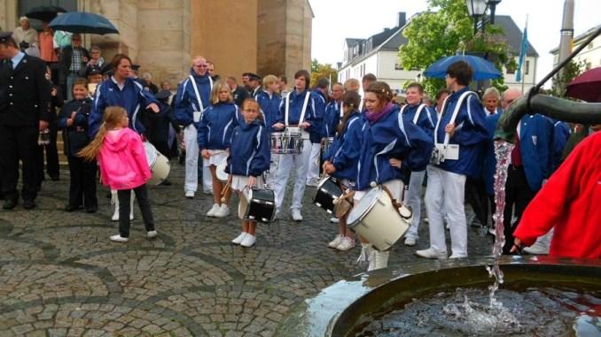 Fanfarenzug Greiz  rockt» in Naila