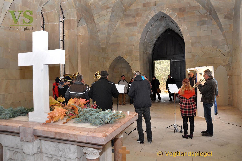 5. Hubertusfest am Mausoleum in Waldhaus bei Greiz