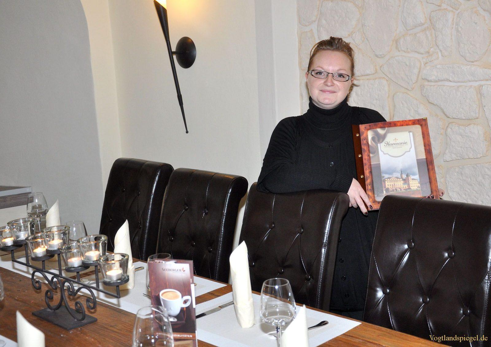 Harmonie Schlosscafé-Restaurant – Bar im Greizer Unteren Schloss eröffnet