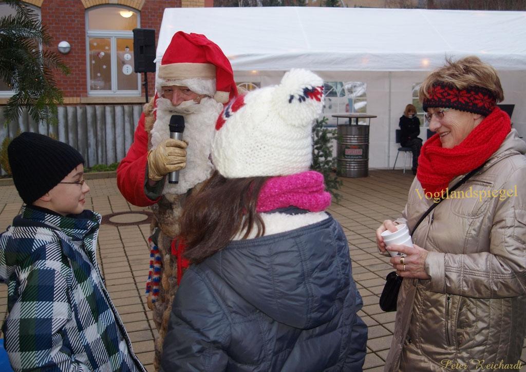 Dölauer Weihnachtsmarkt mit besinnlicher Einstimmung auf das Weihnachtsfest