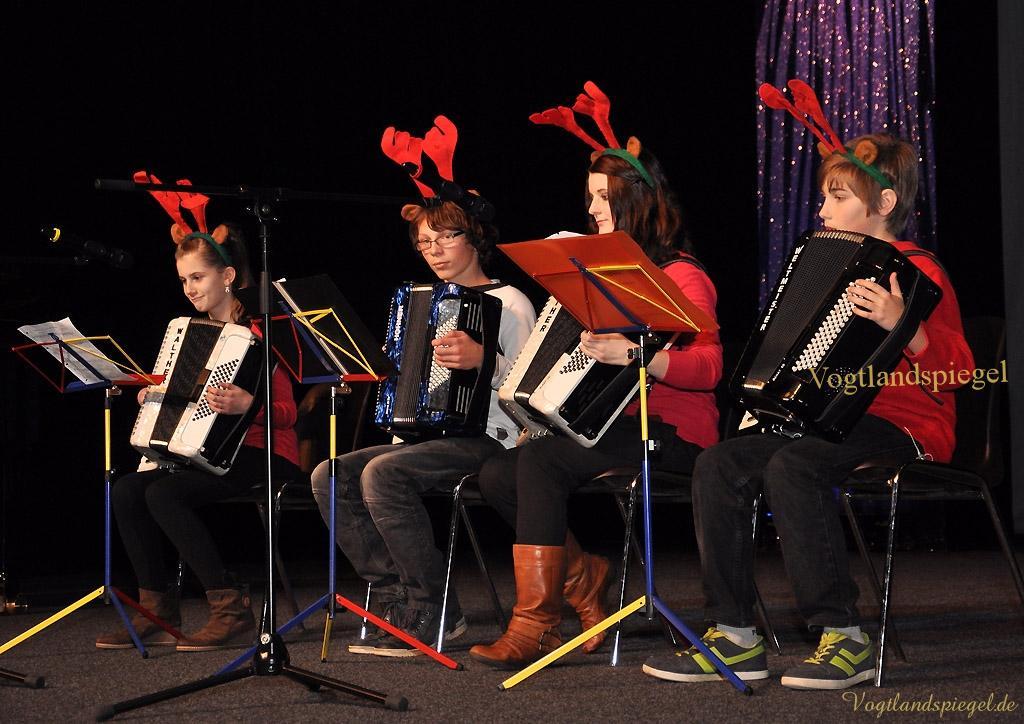 Weihnachtskonzert des Greizer Ulf-Merbold-Gymnasiums