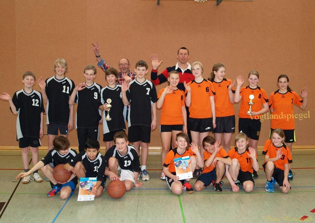 Jugend trainiert für Olympia in Greiz