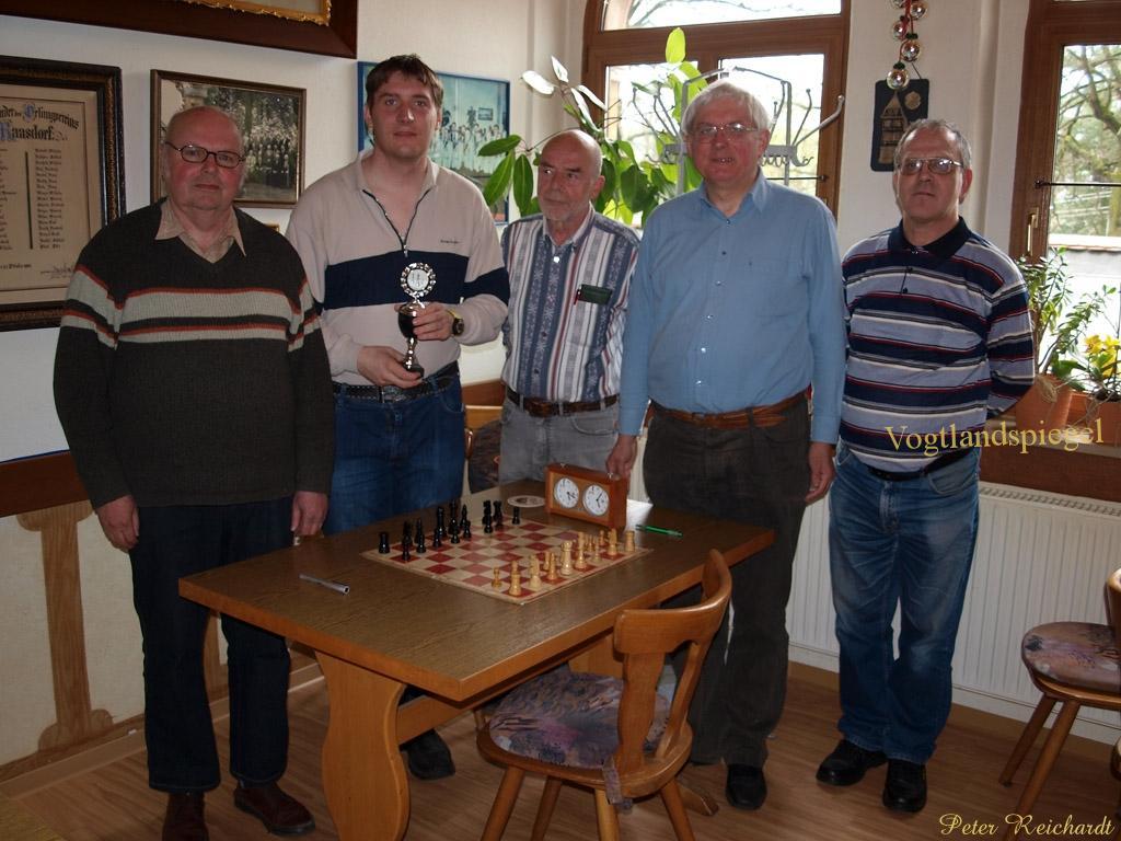 Der Schachkreismeister 2013 heißt SK 1881 Greiz e.V.