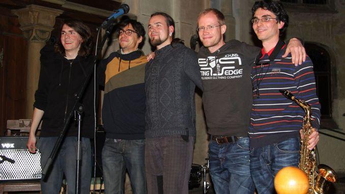Benefizkonzert der Band Intrinsic Vitality in Pohlitzer Kirche