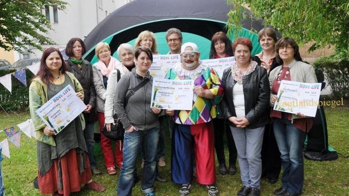 Fortbildungsakademie der Wirtschaft (FAW) überreicht Spenden an Sport-und soziale Vereine des Landkreises Greiz
