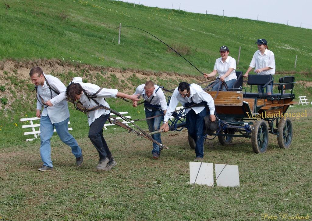 Mohlsdorfer Pferdefrühling lockte viele Besucher in den Greizer Osten