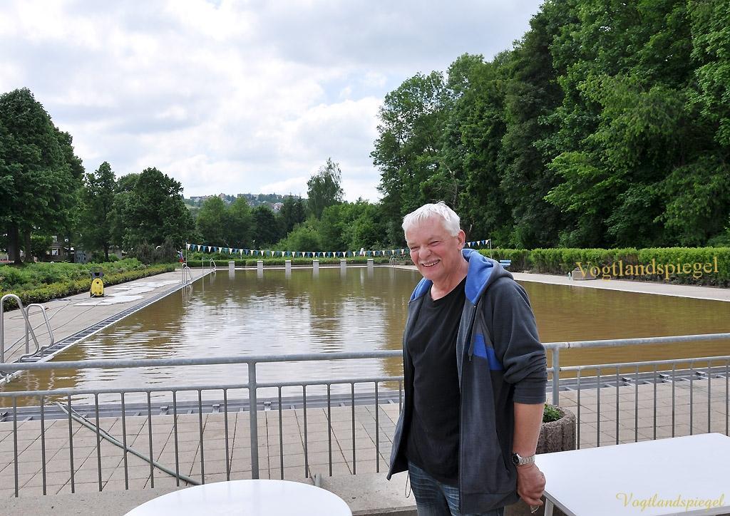 Kampf den Hochwasserschäden auch im Greizer Bäderkomplex
