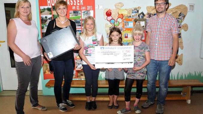 Kindergarten »Käte Duncker« in Greiz-Aubachtal mit Spende bedacht