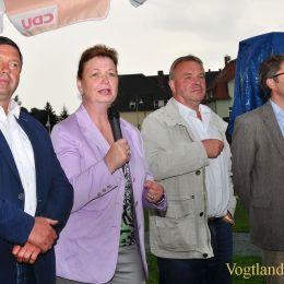 Greizer CDU lud zum Familienfest in den Schlossgarten ein