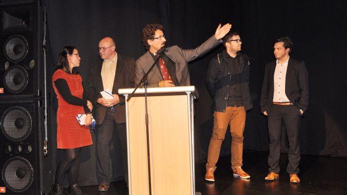 Ausstellung zur Initiative Wohnstandort Innenstadt Greiz in Vogtlandhalle eröffnet