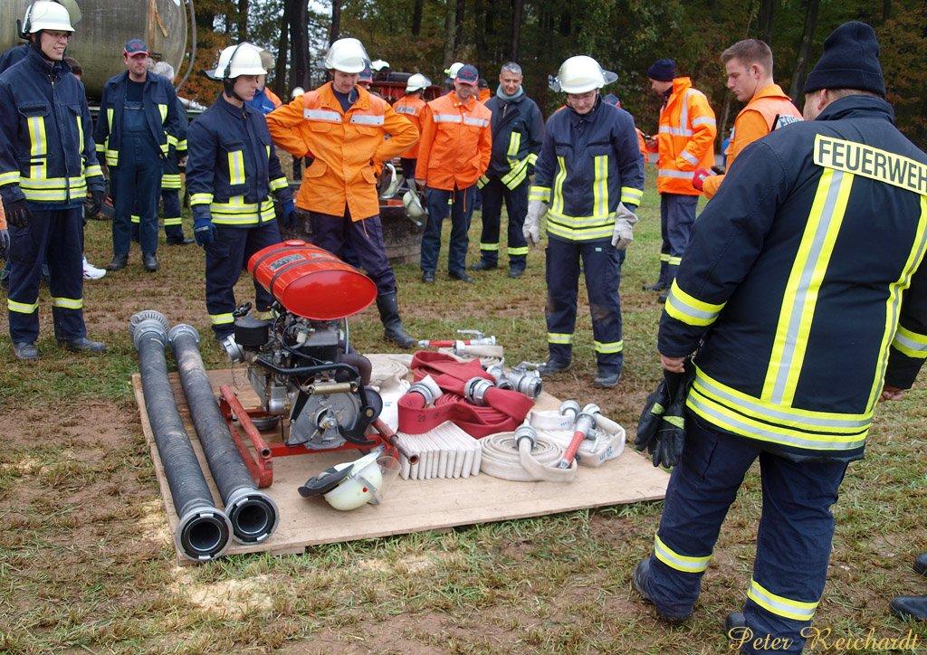 Gemeinsamer Wettkampf der FFW in Mohlsdorf-Teichwolframsdorf