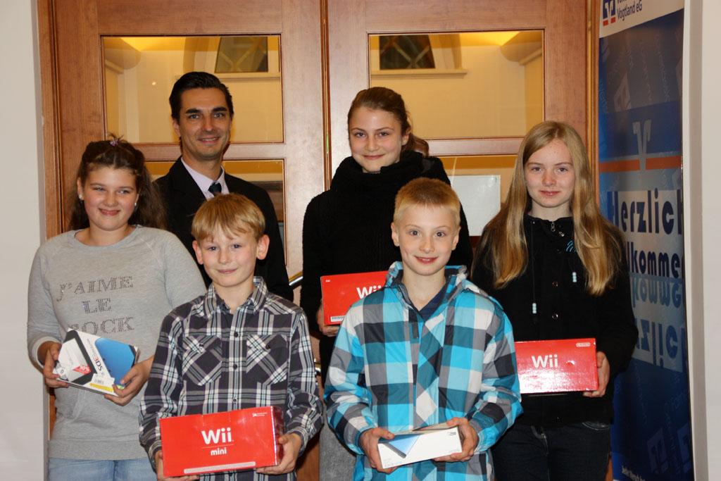 Volksbank Vogtland eG zieht Gewinner