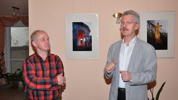 Ausstellung Nights in Greiz von Fotograf Lutz Zürnstein in Bäckerei Menz
