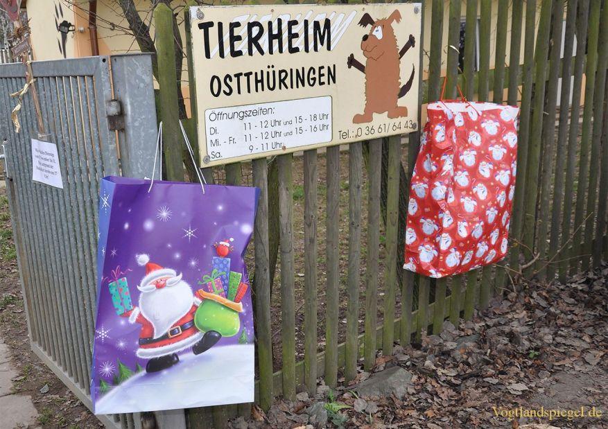 Pfötchenweihnacht im Greizer Tierheim
