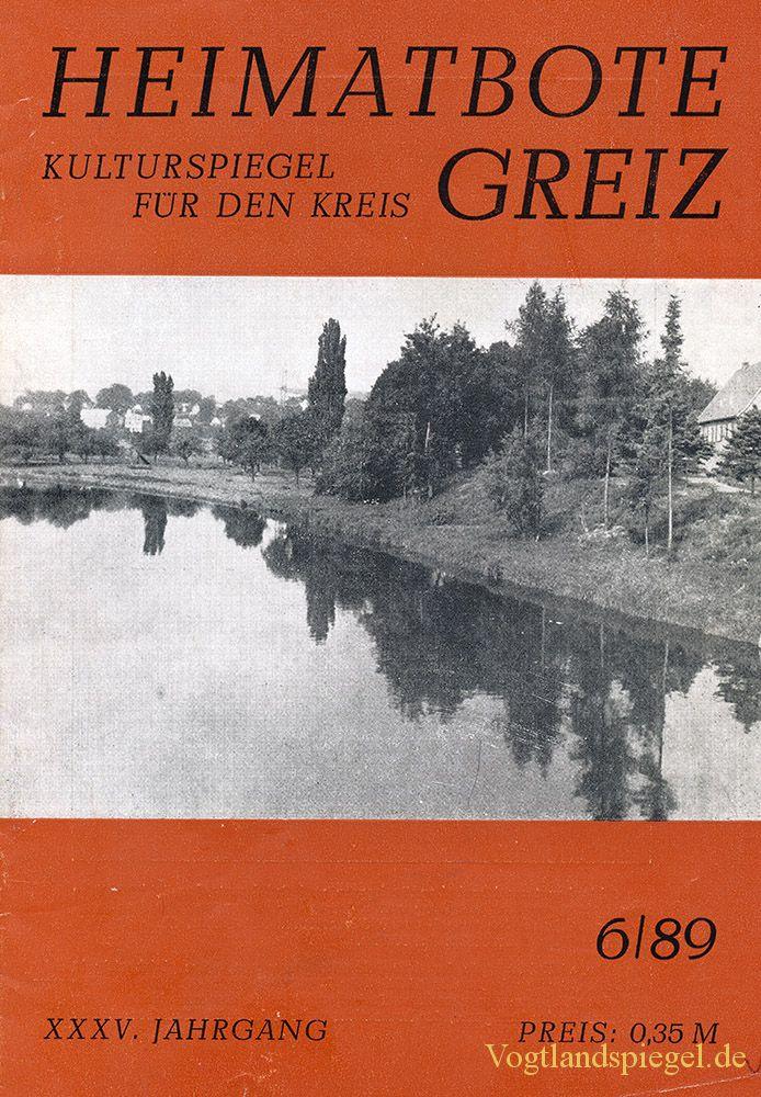 Greizer Heimatbote Juni 1989