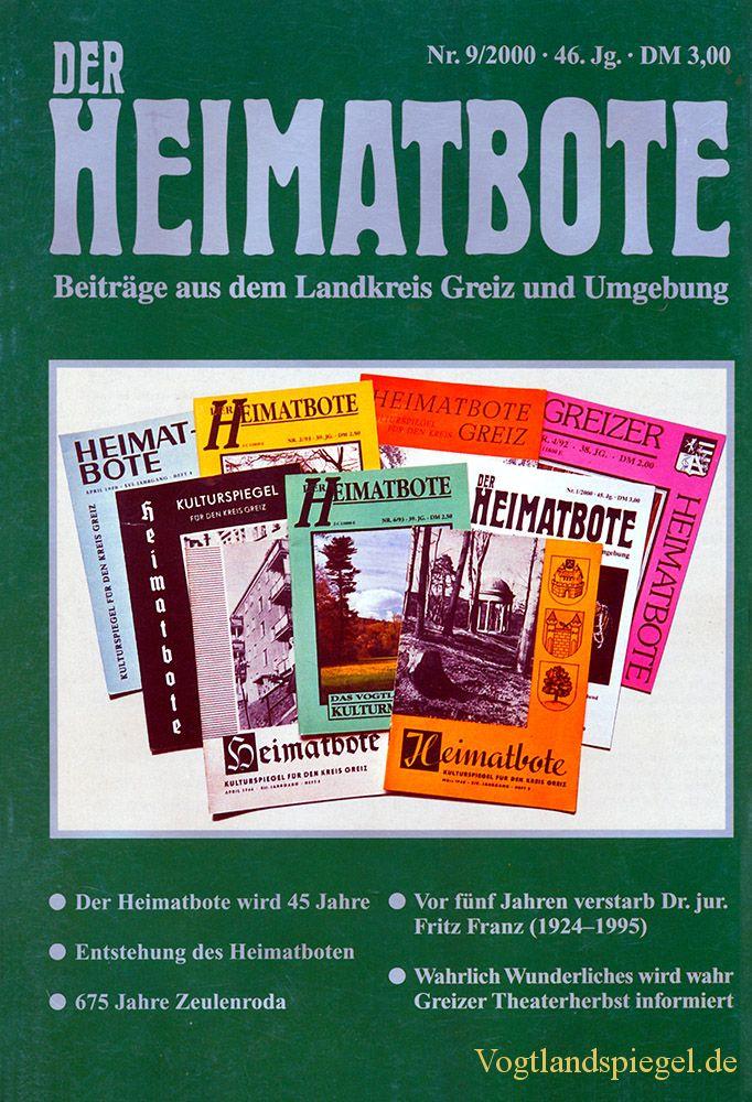 Greizer Heimatbote September 2000