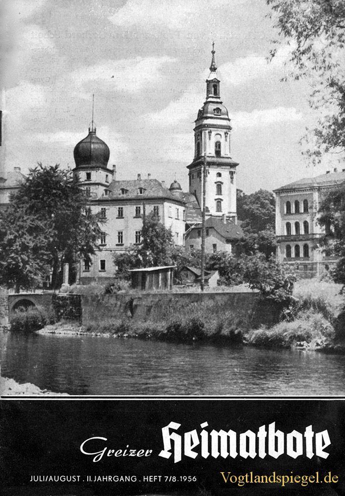 Greizer Heimatbote Juli/August 1956