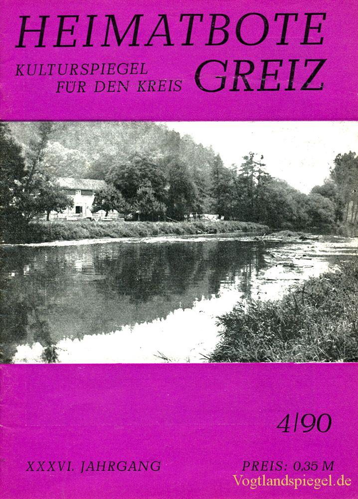 Greizer Heimatbote April 1990